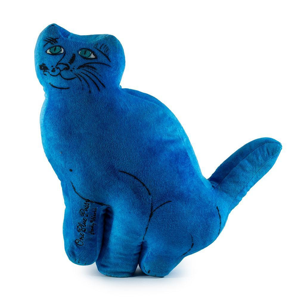 Andy Warhol One Blue Pussy Cat Plush by Kidrobot