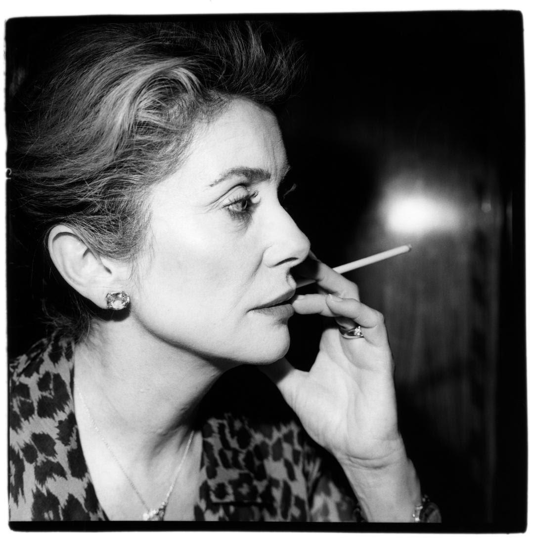 Catherine Deneuve par Renaud Monfourny (Les Inrockuptibles) - Exposition de photographies