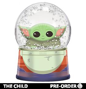 The Mandalorian The Child Pod Light-Up Snow Globe