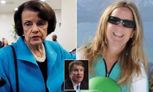 Bombshell Photo of Kavanaugh Accuser Tells the Real Story! Seditious Plot Laid Bare---Literally!