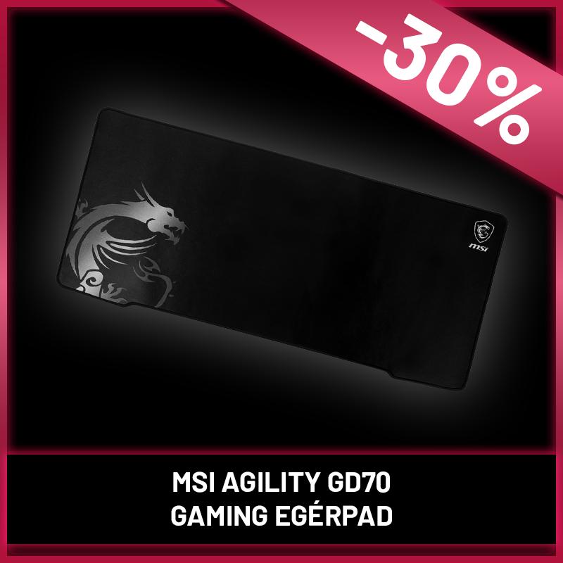 MSI AGILITY GD70 GAMING Mousepad