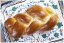 challah with cloth