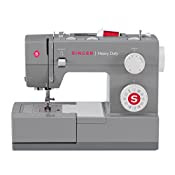 SINGER 4432 Heavy-Duty Extra-High-Speed Sewing Machine with Metal Frame and Stainless Steel Bedplate
