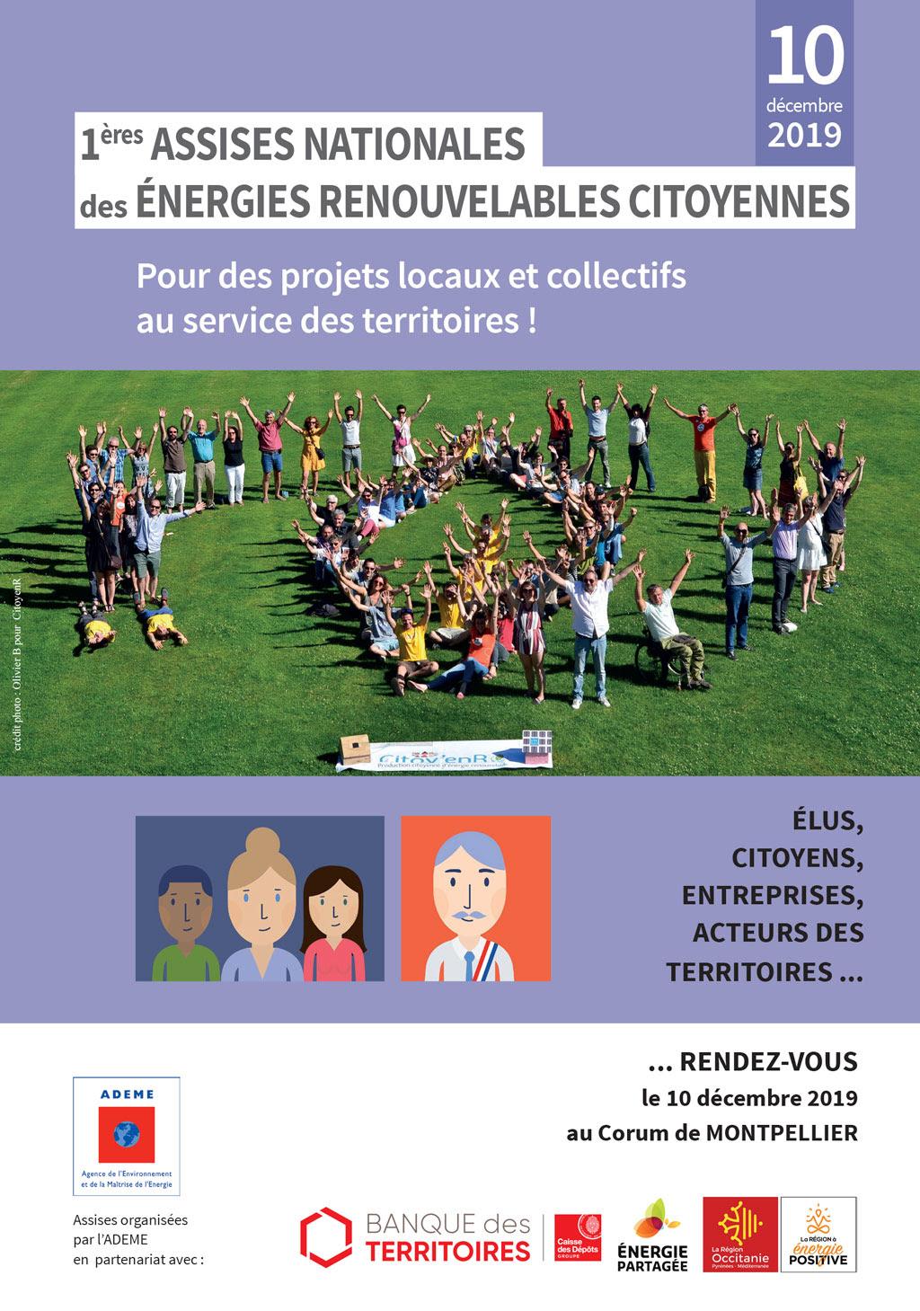 Le 10 décembre à Montpellier : assises des EnR citoyennes !