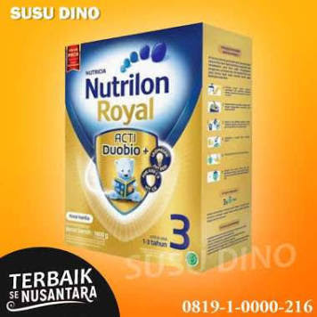 NUTRILON ROYAL 3 VANILA 1800 GRAM