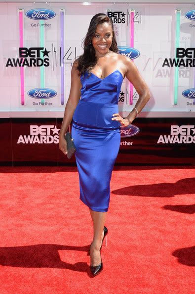 Actress Nadine Ellis  attends the BET AWARDS '14 at Nokia Theatre L.A. LIVE on June 29, 2014 in Los Angeles, California.