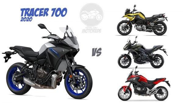 Yamaha Tracer 700 2020 Concorrentes