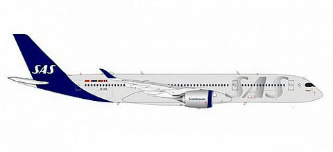 570923   Herpa Wings 1:200 1:200   Airbus A350-900 SAS SE-RSB   is due: August 2020