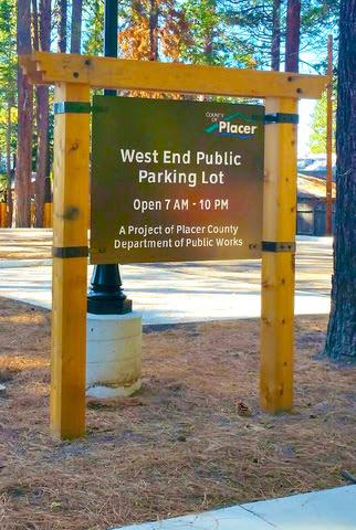 west end public parking