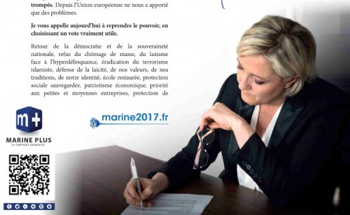 Profession de foi Marine Le Pen