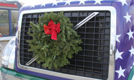 "Wreaths Across Americas ""Trucking Tributes"" Present the National Association of Independent Truckers, TransGuard and IAT Insurance Group"