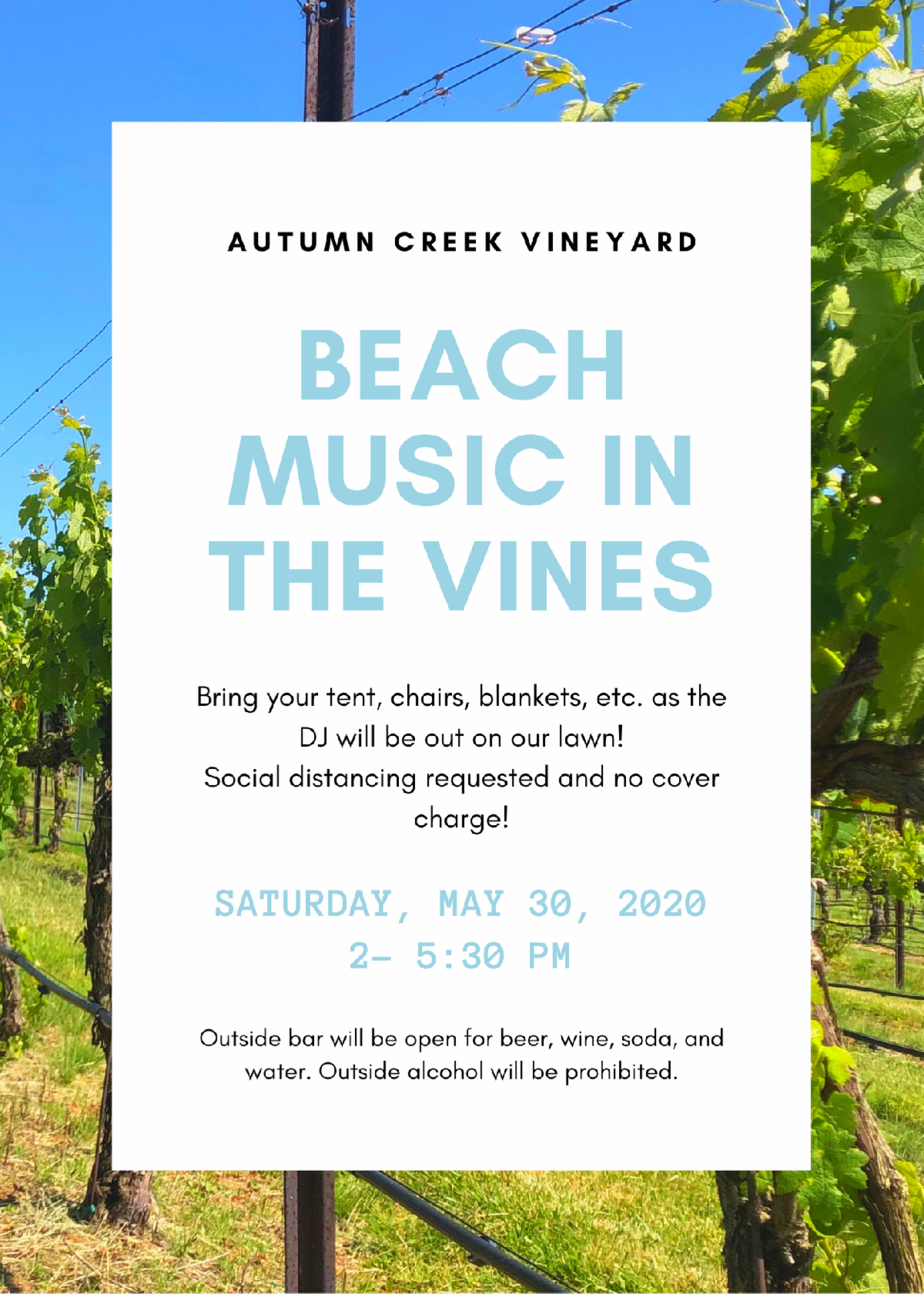 Beach Music in the Vines!
