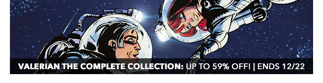 Cinebook Valerian - The Complete Collection Sale: up to 59% off! | Ends 12/22