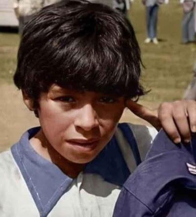 Diega Maradona à 8 ans