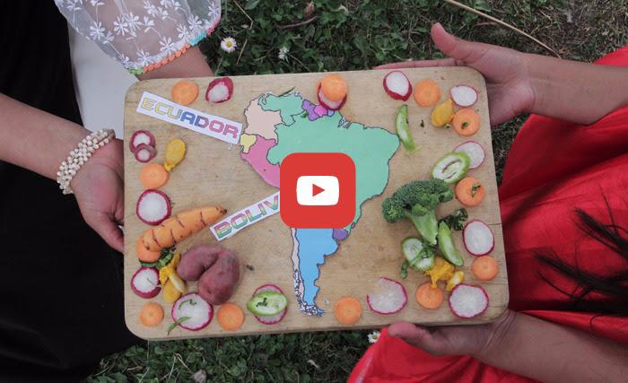 Bolivia y Ecuador en la seguridad alimentaria con soberanía