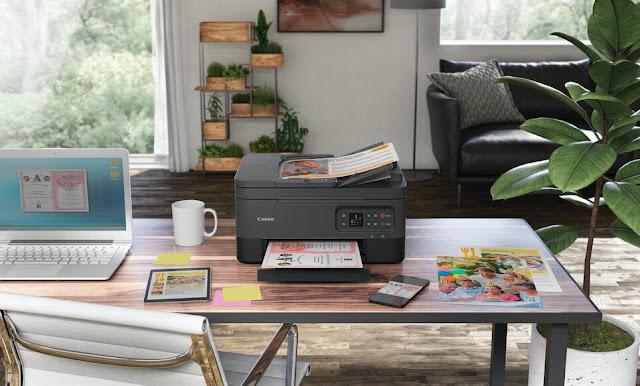 Imagine o que pode fazer com a nova impressora da série Canon PIXMA TS7450
