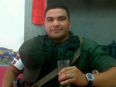Adner López, Sargento Segundo de la Guardía Nacional Bolivariana, oriundo de Cumaná, estado Sucre.