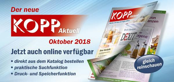 Kopp Aktuell Oktober 2018