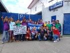 Филиппины: Рабочие Timberland бастуют, протестуя против уничтожения профсоюза