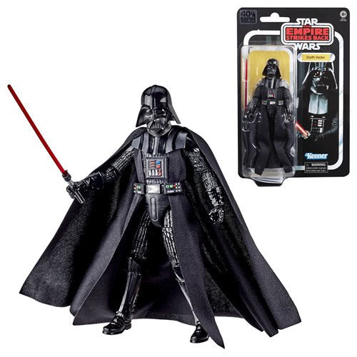 Image of Star Wars The Black Series Empire Strikes Back 40th Anniversary 6-Inch Darth Vader Action Figure