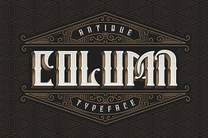 Column Typeface