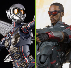 MARVEL S.H.FIGUARTS FALCON & WASP