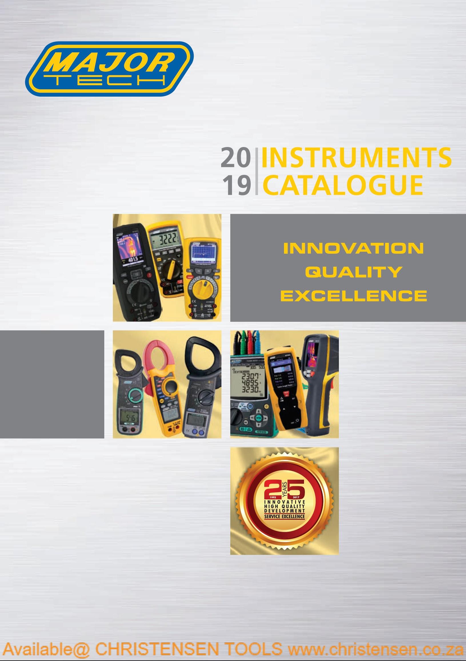 MajorTech catalogue
