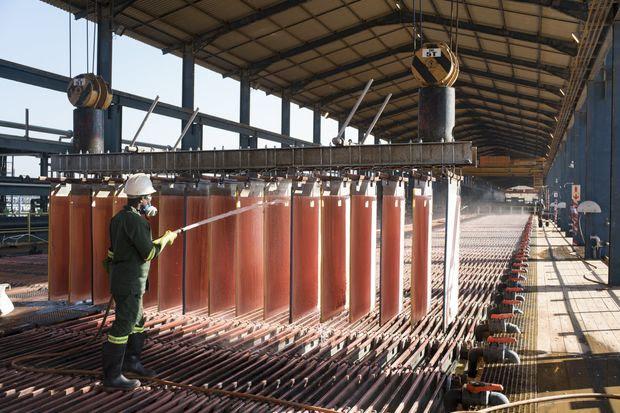 A Glencore copper operation in the Democratic Republic of Congo.