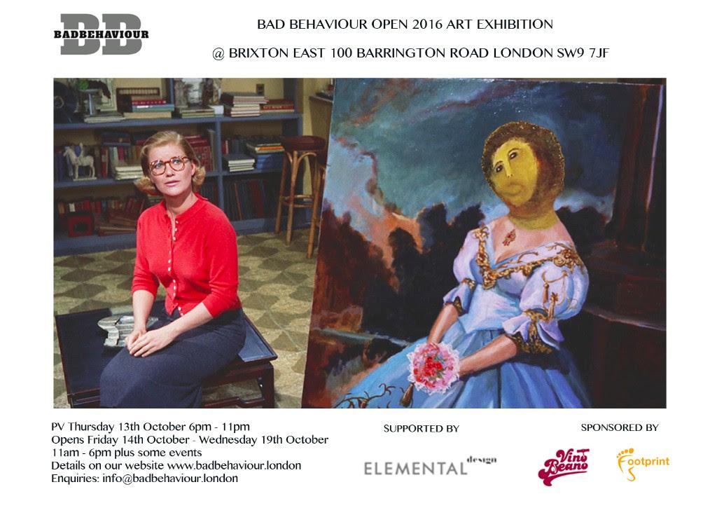 Bad Behaviour Open 2016 Art Exhibition