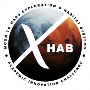 Moon to Mars eXploration Systems and Habitation (M2M         X-Hab) 2021 Academic Innovation Challenge Logo
