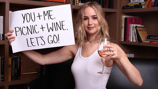 Go Wine Tasting with Jennifer Lawrence