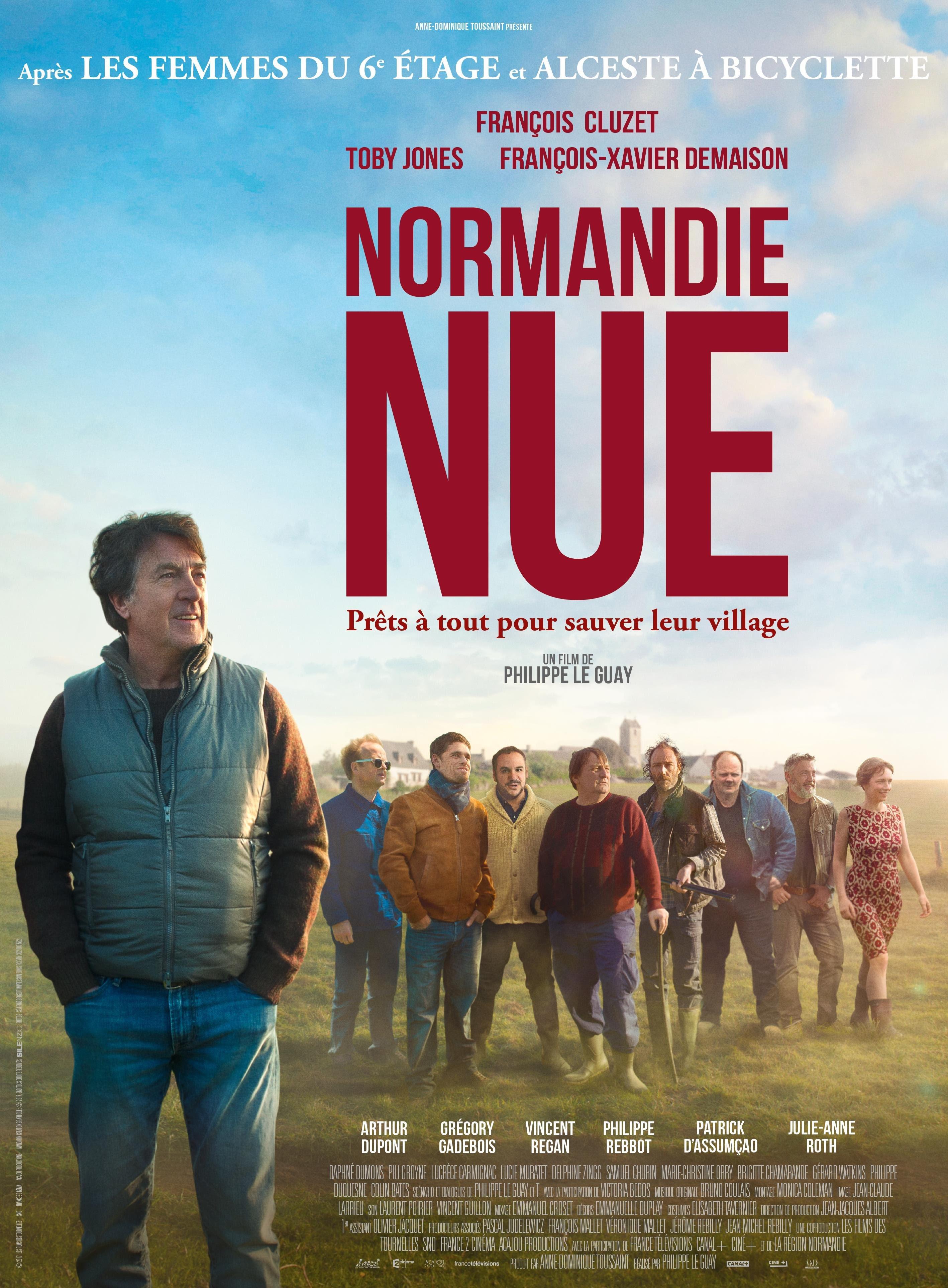 """Cuarto título: """"NORMANDÍA AL DESNUDO"""" de Philippe Le Guay, en el 22o. Tour de Cine Francés"""