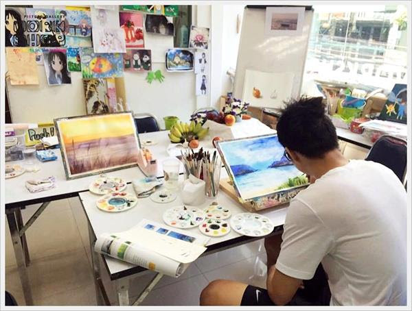 Basic of Water colour workshop