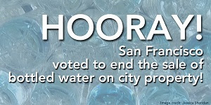SF bottled water victory