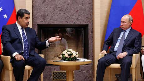 El presidente venezolano Nicolás Maduro, y el presidente ruso, Vladímir Putin