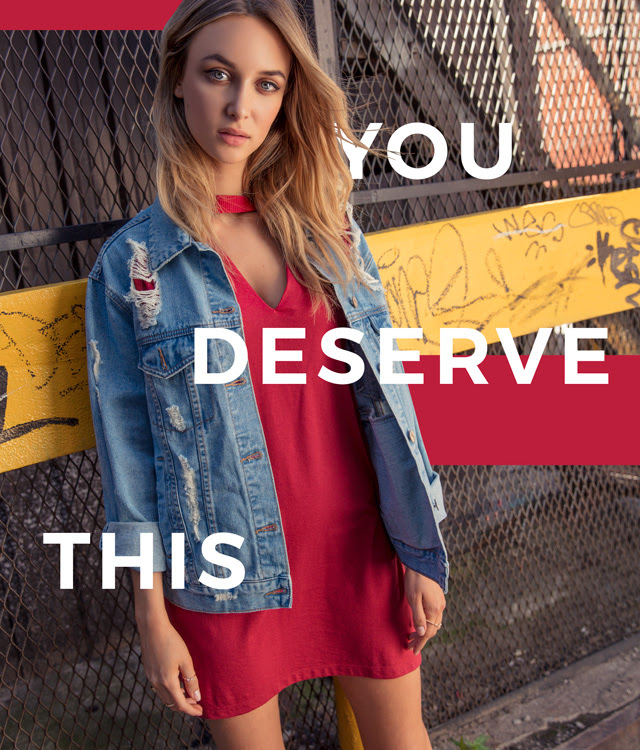 You deserve this.