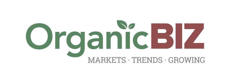 organic biz logo tag