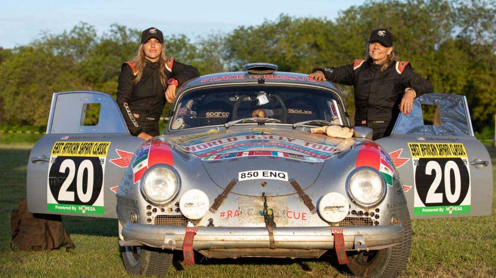 A 1956 Porsche could help this woman racer set a new world record
