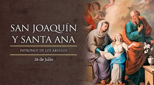 Hoy la Iglesia Católica celebra a San Joaquín y Santa Ana, patronos de los abuelos