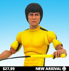 Bruce Lee Select (Yellow Jumpsuit) Figure