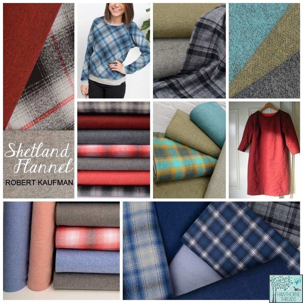 Shetland Flannel Robert Kaufman at Hawthorne Supply Co