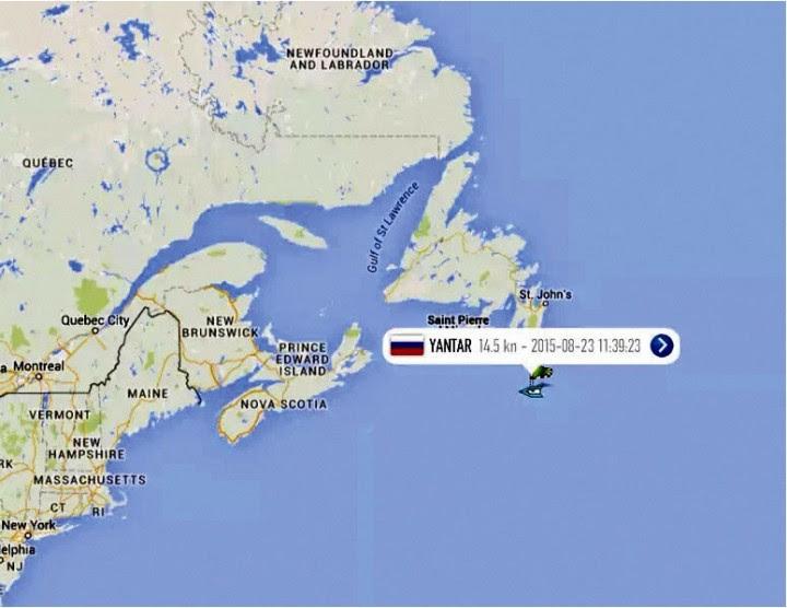 Атлантическая одиссея «Янтаря» поставила на уши Америку
