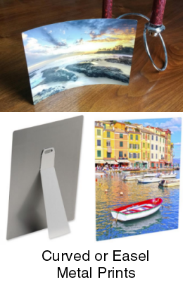 Metal prints on aluminum
