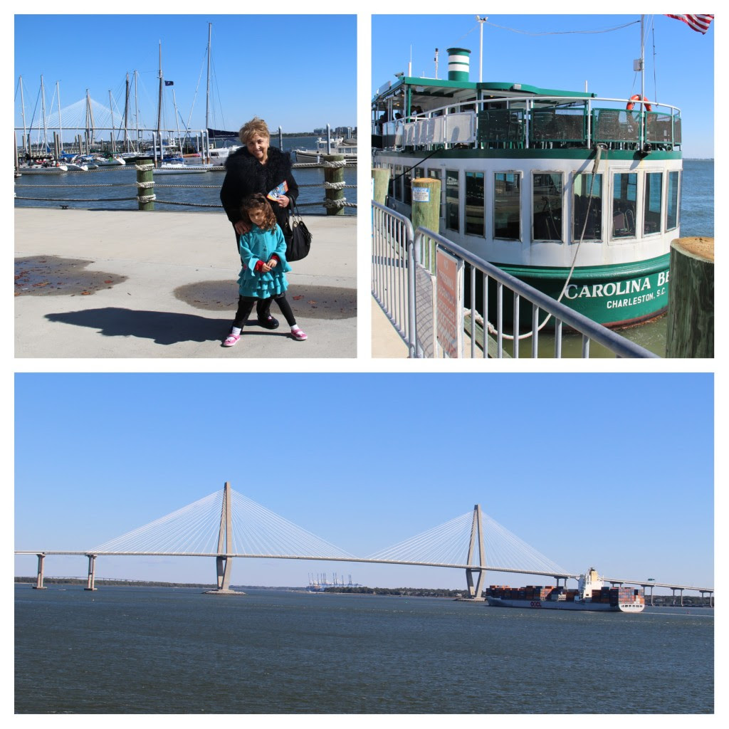 Family Friendly Charleston, South Carolina, Charleston Harbor Tours, boat cruise, family travel, Charleston with kids