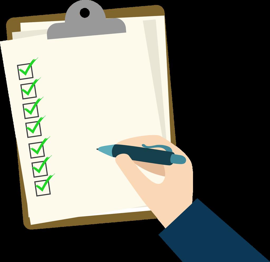 Animated Blank Checklist