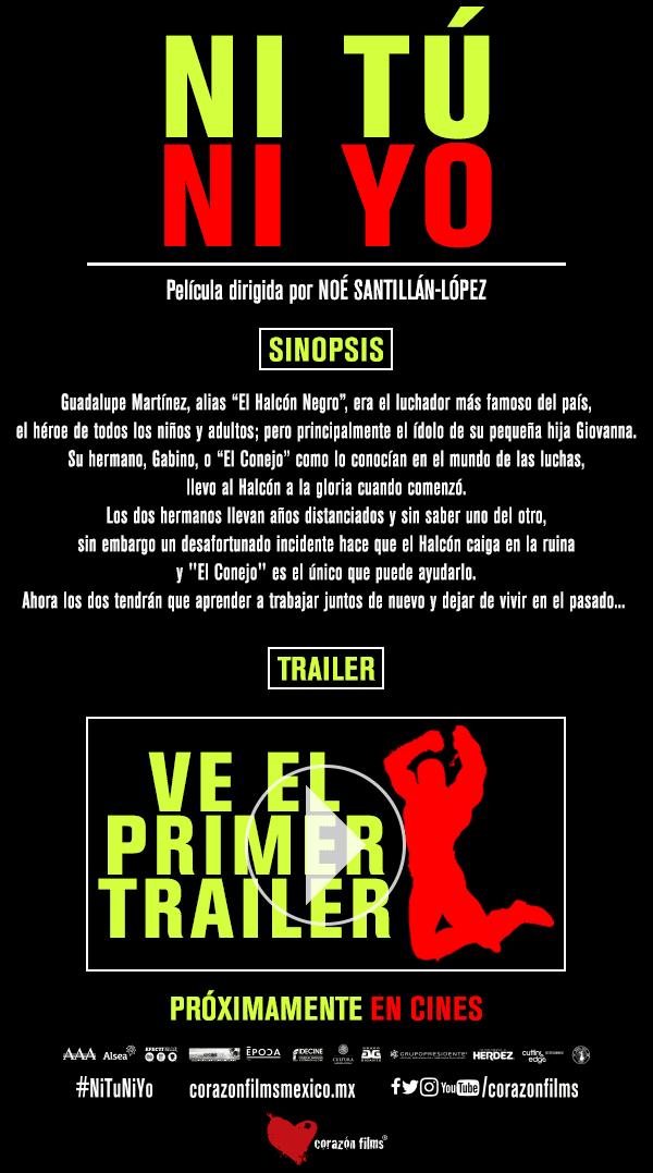 Ni Tú ni Yo / Primer tráiler oficial / Próximamente