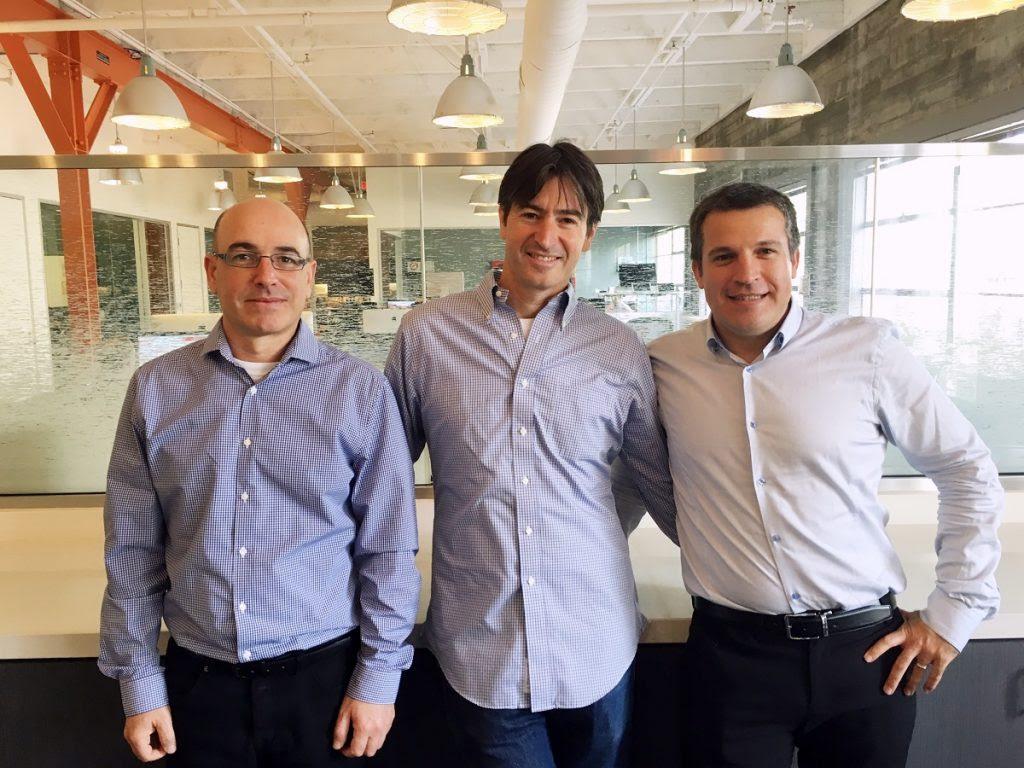 Next Insurance founders Nissim Tapiro, Guy Goldstein, Alon Huri. Courtesy