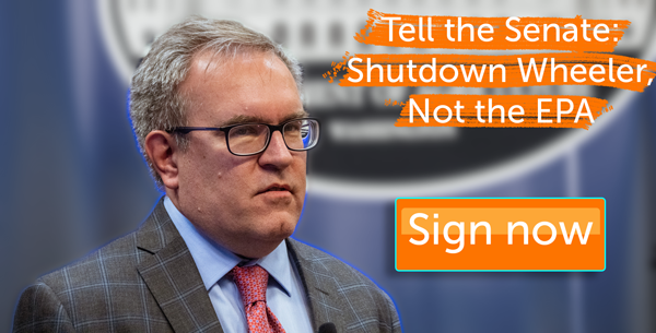 Shutdown Wheeler, not the EPA