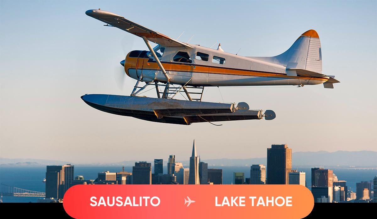 sausalito to lake tahoe