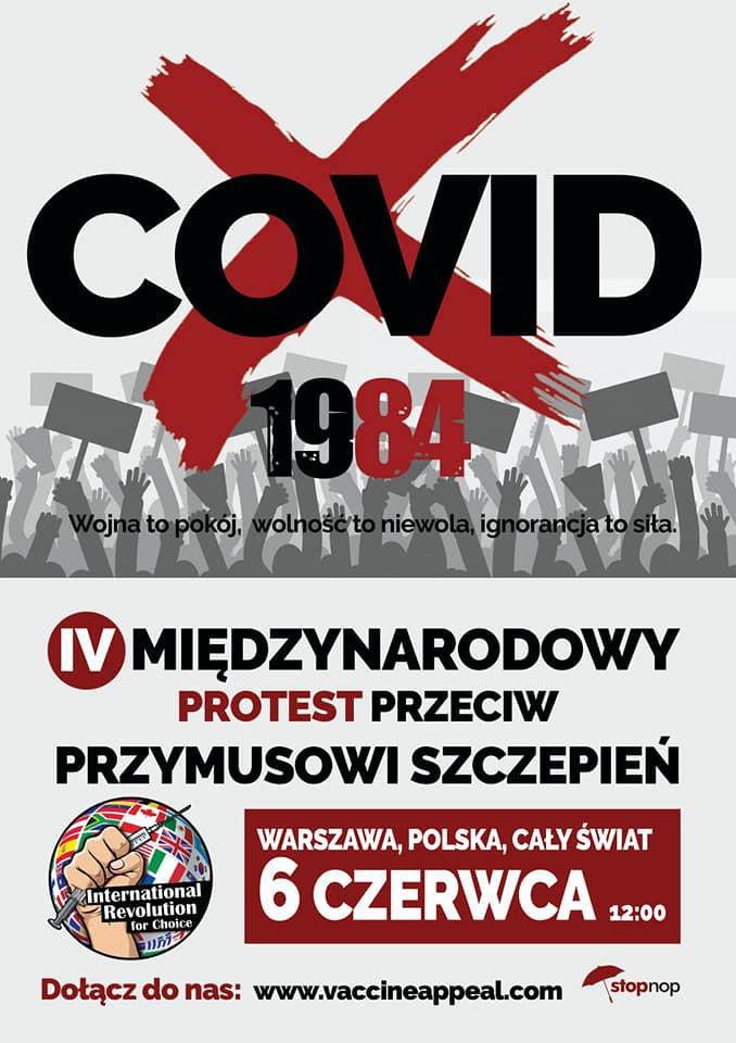 IV Międzynarodowy Protest Przeciw Przymusowi Szczepień...